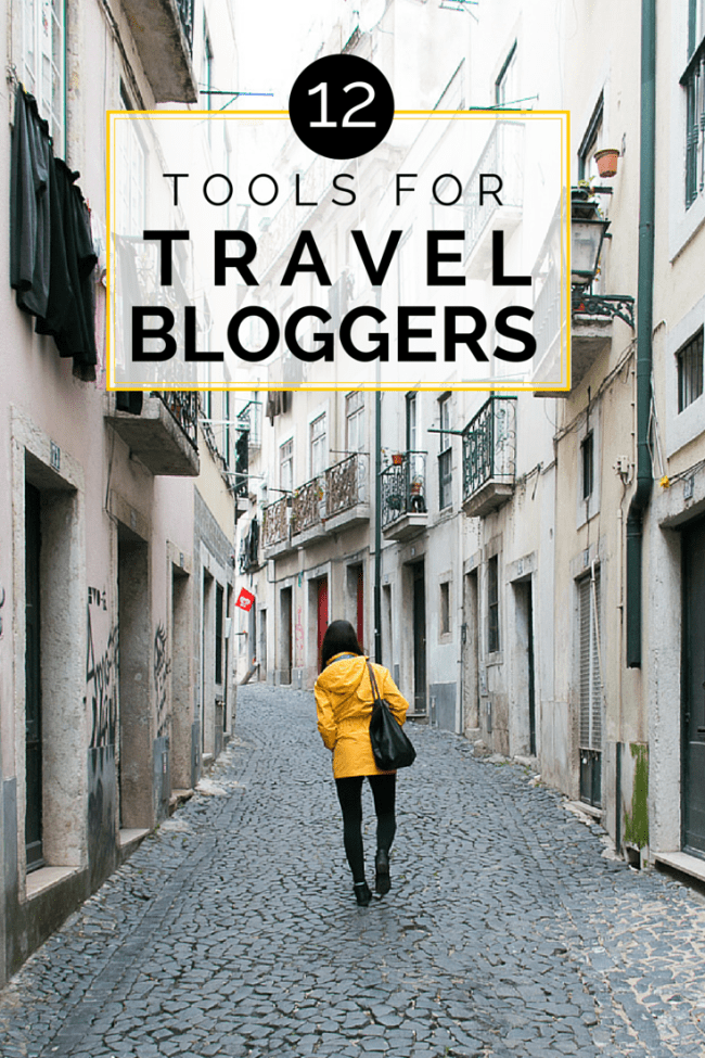 12 Tools for Travel Bloggers