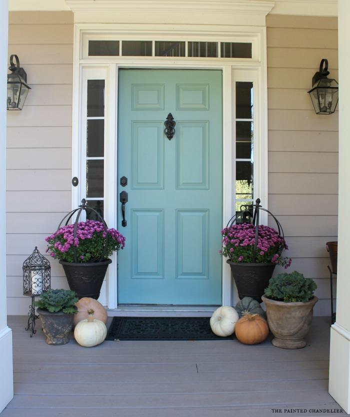 Front Door Color Ideas Part - 43: Behr Paint Blue Door