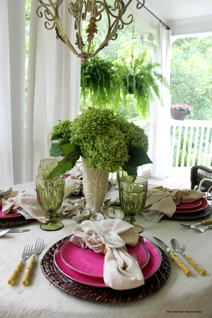 4 Casually Elegant Summer Porch Tablescapes The Painted