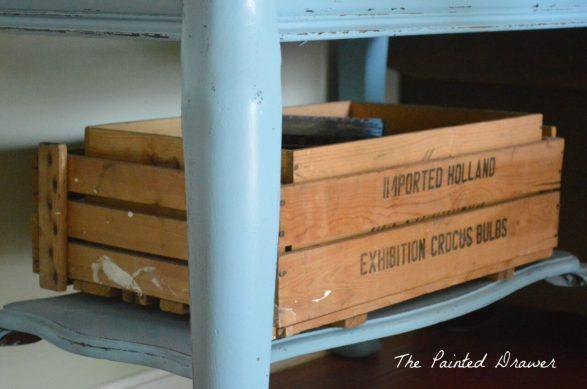 Vintage Crate www.thepainteddrawer.com