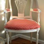Vintage Chair in Creamy White + Quick Tip Video Tutorial