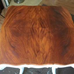 From Dark and Drab to Fab – Table Top