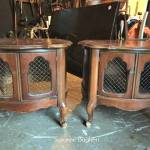 FFM: A Pair of Vintage French Tables