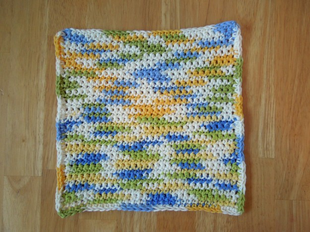 Super Simple Crochet Washcloth / Dishcloth Pattern