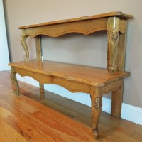 Entryway Table Repurposed From A Coffee Table