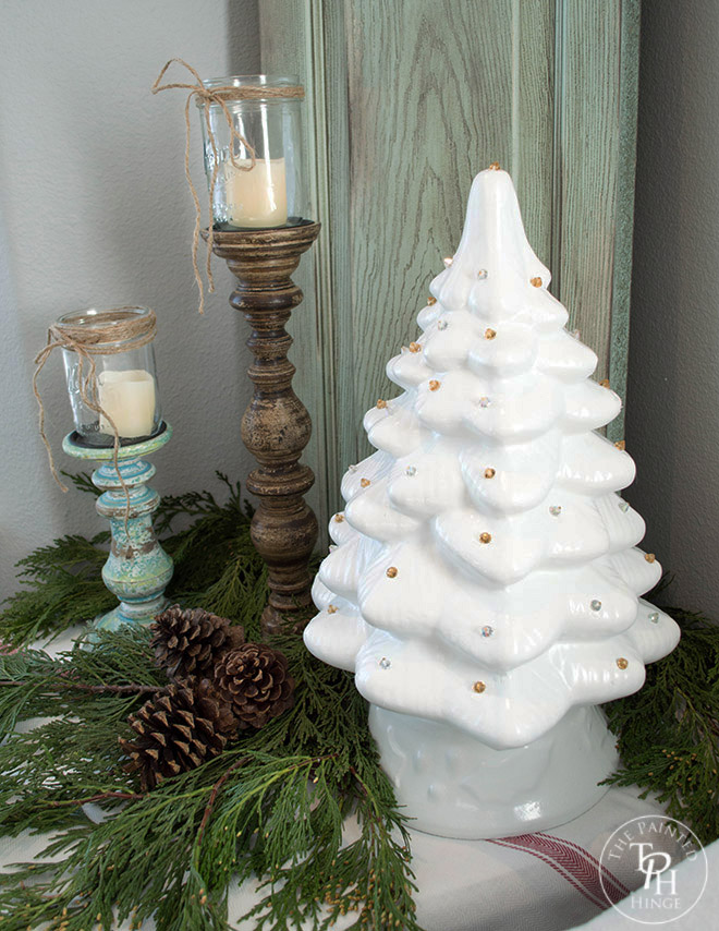how to make a ceramic christmas tree