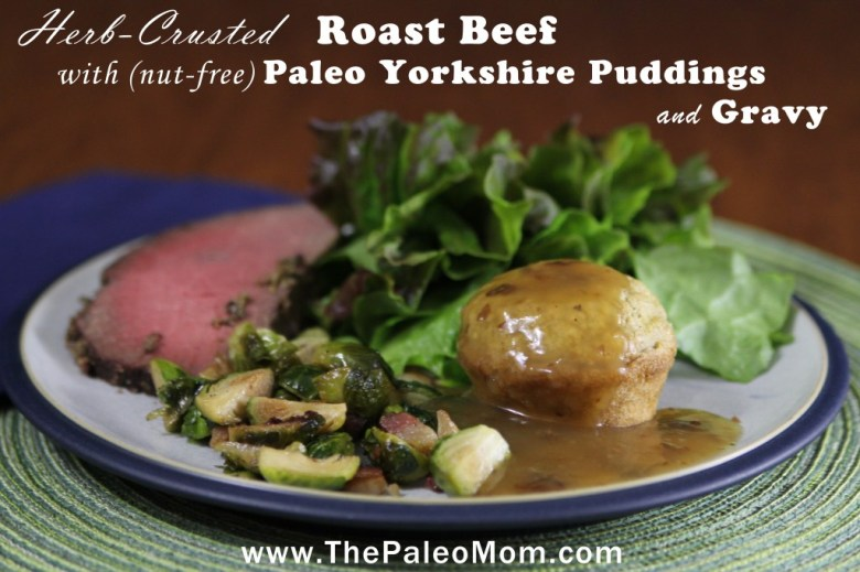 Paleo Roast Beef and Yorkshire Pudding