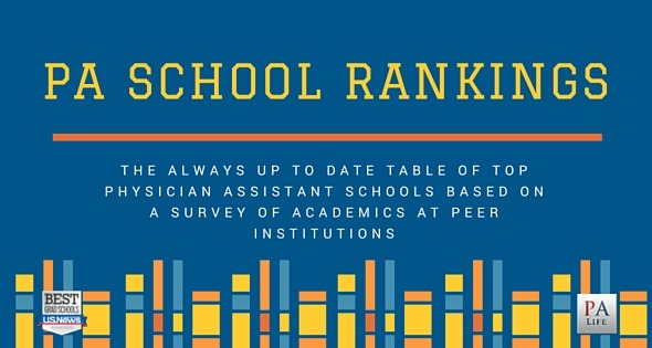 What are the Best PA Schools? Physician Assistant School Rankings