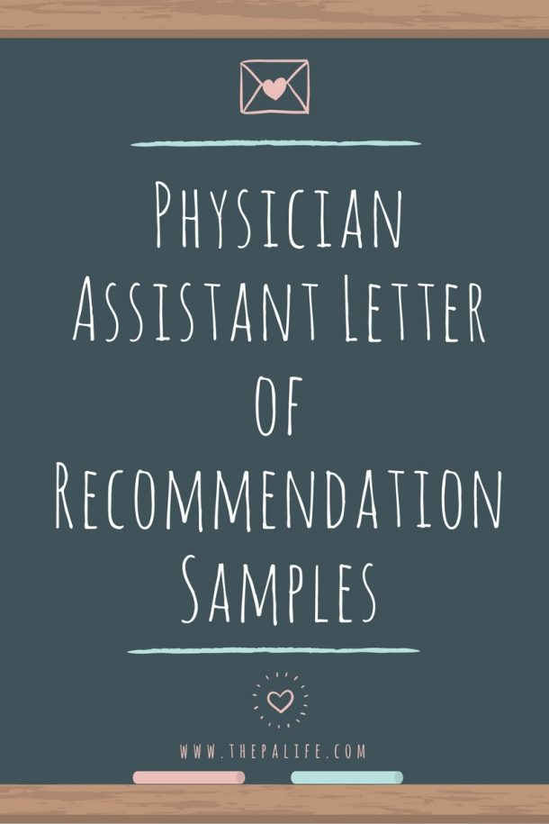 Secrets of Successful PA School Letters of Recommendation The