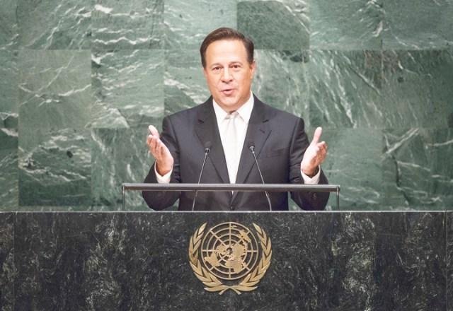 Varela at the UN