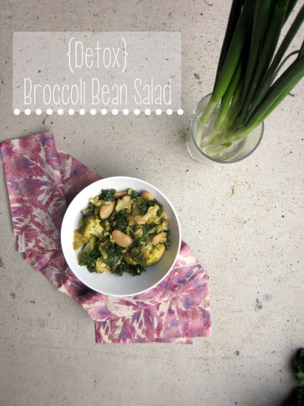 {Detox} Broccoli Bean Salad