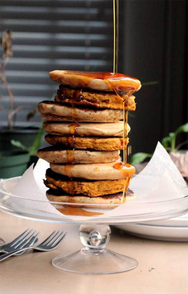 Vegan Pancakes, two ways // The Pancake Princess