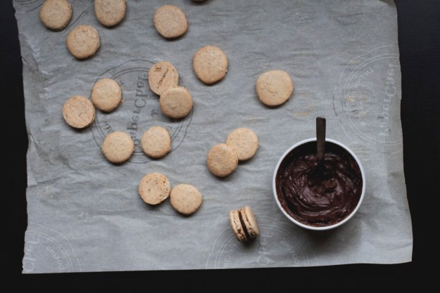 Flax Macarons // The Pancake Princess