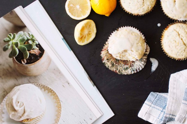 Lemon Poppy Seed Cupcakes // The Pancake Princess