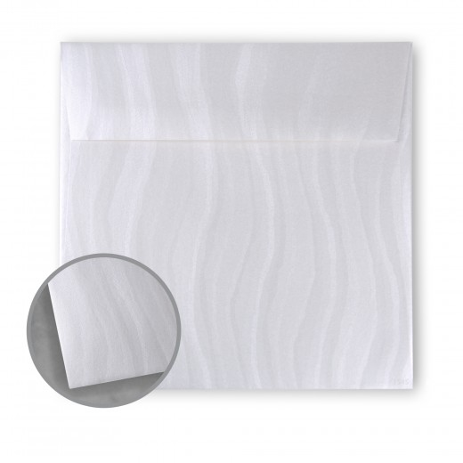 White Envelopes - No 6 1/2 Square (6 1/2 x 6 1/2) 74 lb Text Wave