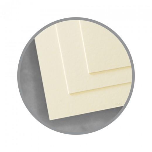 Ivory Paper - 8 1/2 x 11 in 32 lb Bond Wove 100 Cotton Southworth