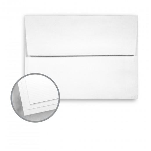 100 PC White Envelopes - A2 (4 3/8 x 5 3/4) 24 lb Writing Pinstripe