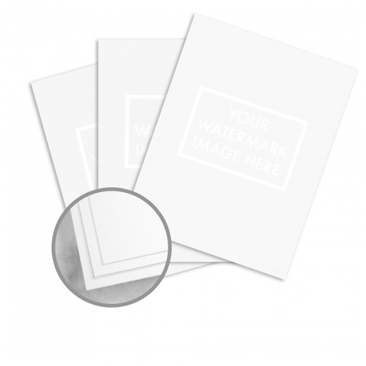 Ultimate White Paper - 8 1/2 x 11 in 24 lb Writing Wove 100 Cotton
