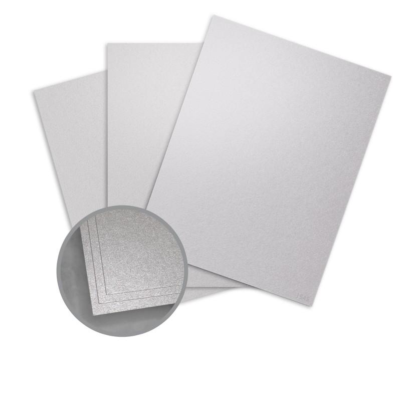 Silver Ore Paper - 8 1/2 x 11 in 80 lb Text Metallic ASPIRE - paper