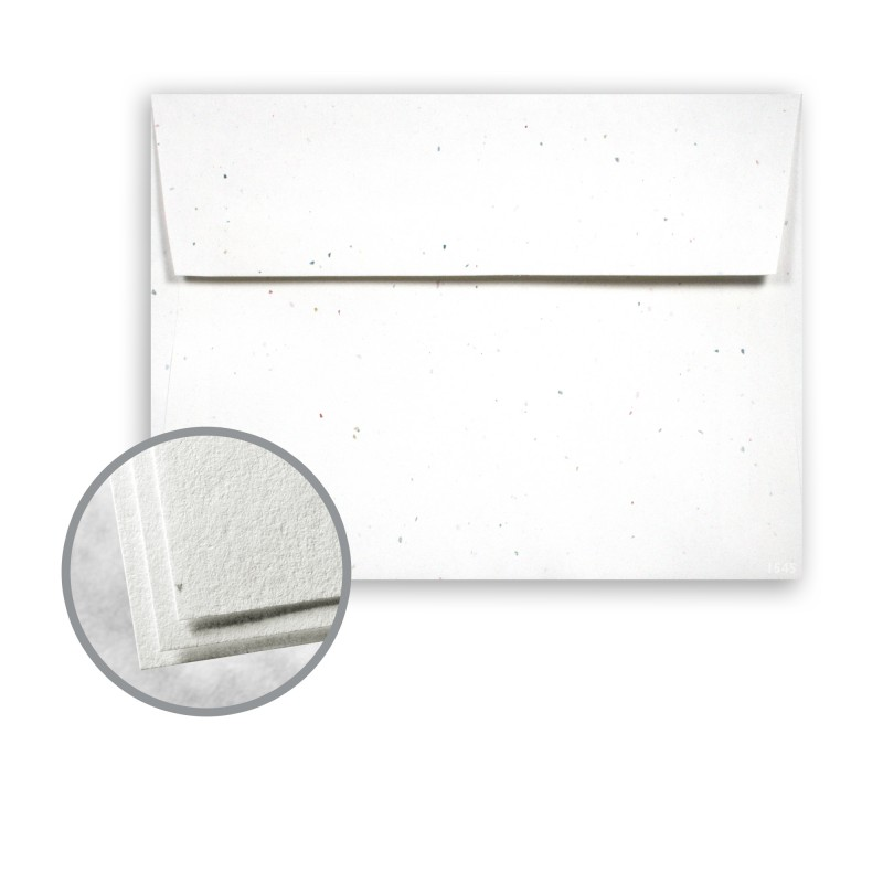 Stardust White (flecked) Envelopes - A6 (4 3\/4 x 6 1\/2) 60 lb Text - 4x6 envelope template