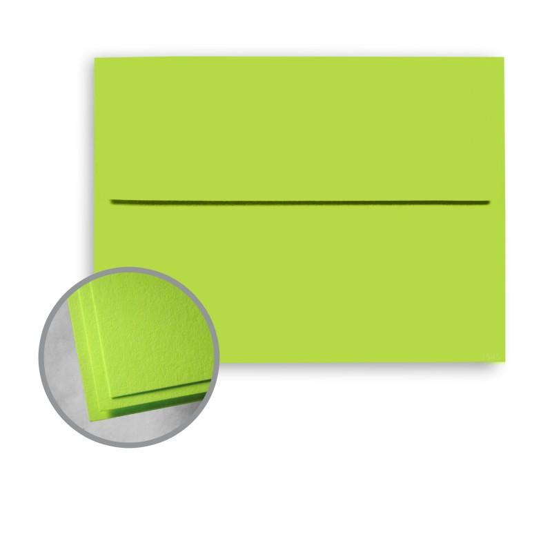 Terra Green Envelopes - A2 (4 3/8 x 5 3/4) 60 lb Text Smooth - envelope a2