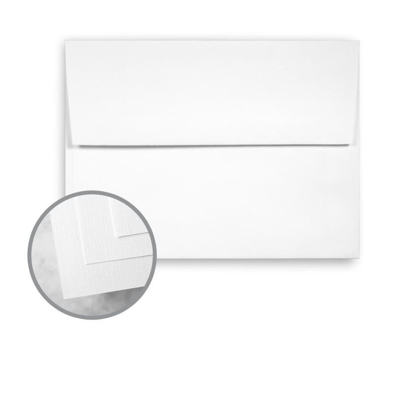 Bright White Envelopes - A2 (4 3/8 x 5 3/4) 70 lb Text Linen