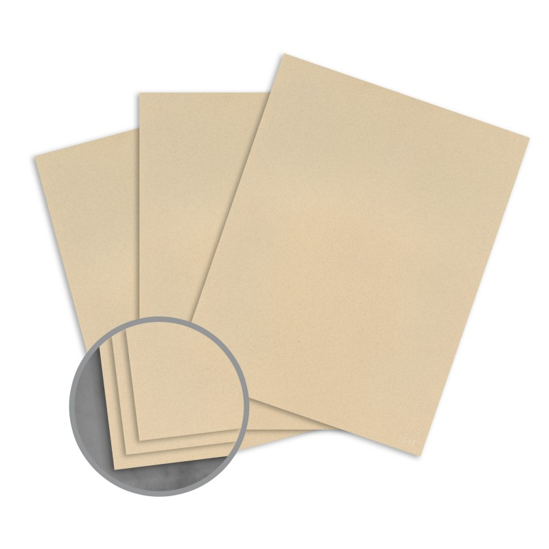 Sandstone Paper - 8 1\/2 x 11 in 70 lb Text Smooth 100 Recycled - ivory resume paper