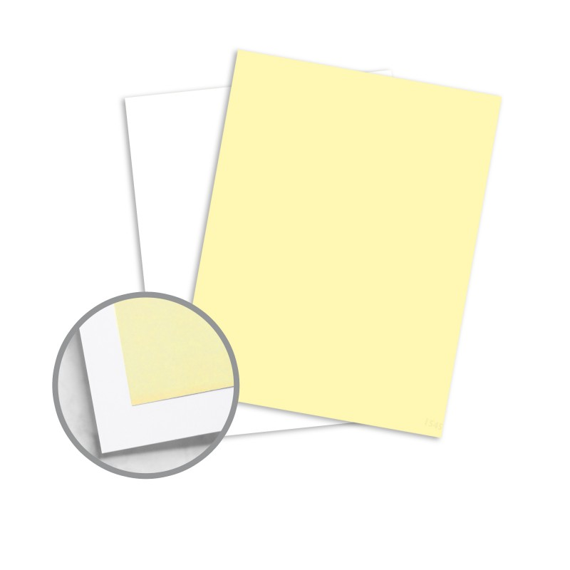 Multi-Colored Carbonless Paper - 8 1/2 x 11 in 21 lb Writing NCR