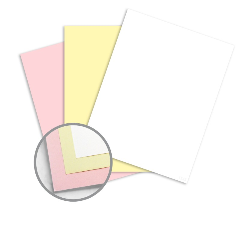 Multi-Colored Carbonless Paper - 11 x 17 in 217 lb Writing NCR - colored writing paper
