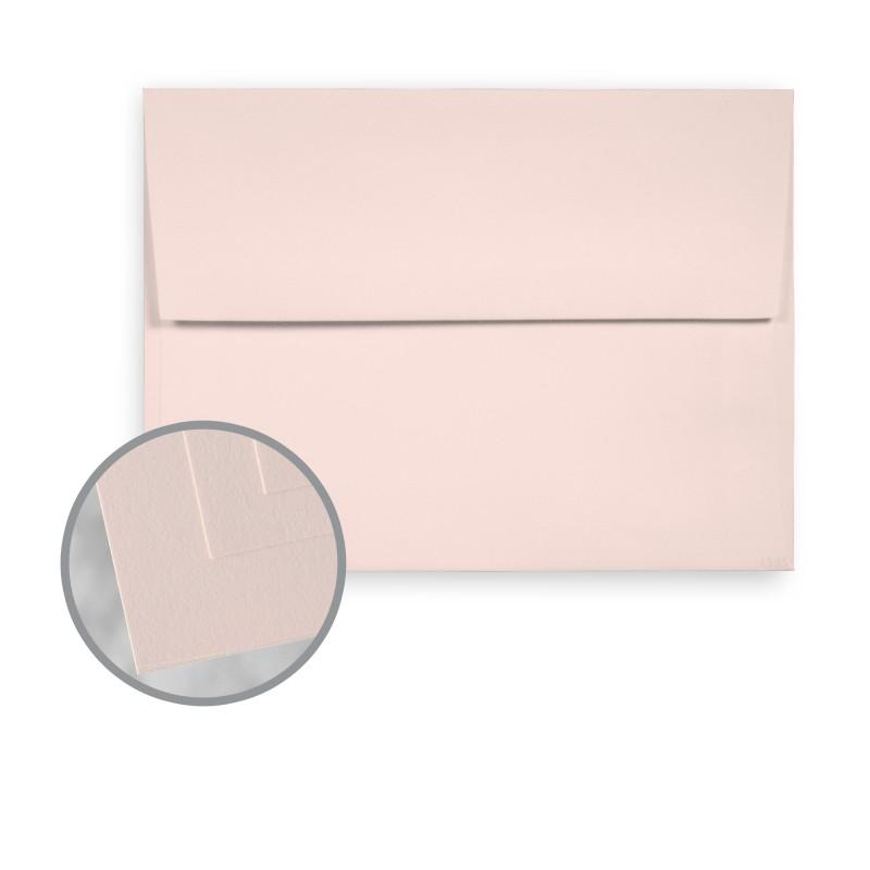 Light Pink Envelopes - A2 (4 3/8 x 5 3/4) 70 lb Text Smooth 30