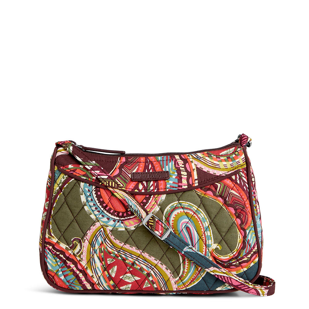Vera Bradley Little Crossbody In Heirloom Paisley The