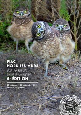 Fiac hors les murs et officielle the parisienne for Fiac 2015 jardin des tuileries