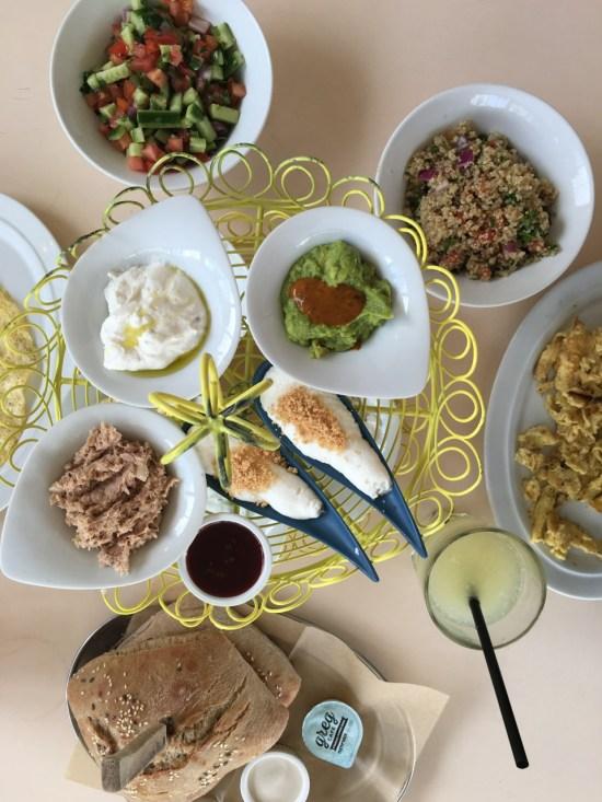 Tel Aviv - petit déjeuner chez Greg