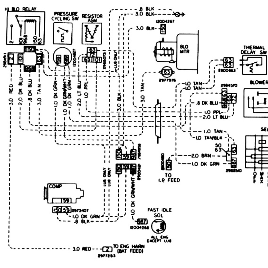 wiring diagram for 1968 buick skylark