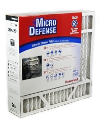 Honeywell 20x20x4 Furnace Filter Ultra Efficiency CF200A1024/E