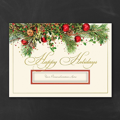 Business Greeting Cards, Business Christmas Cards, Personalized