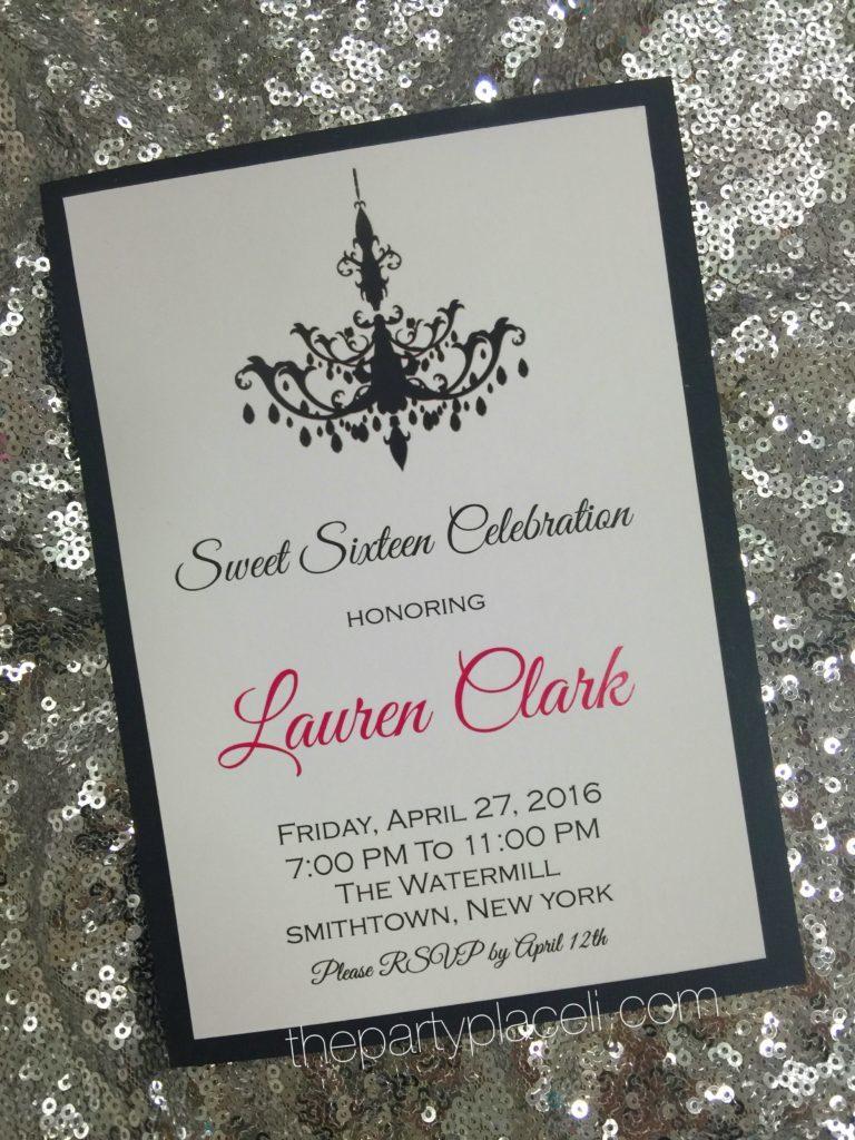 Large Of Sweet 16 Invitations