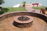 How To Build A Fire Pit Out Of Pavers. Steingrill Selber ...
