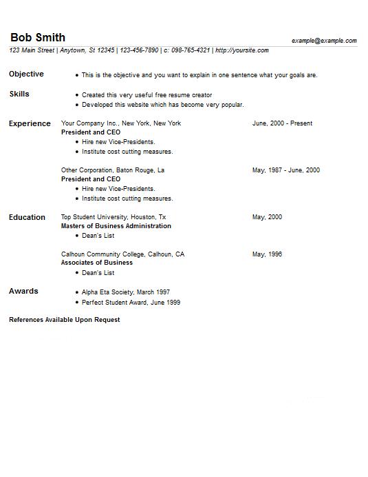 latest resume creator   cv writing serviceslatest resume creator easy resume creator pro resume example  free resume creator