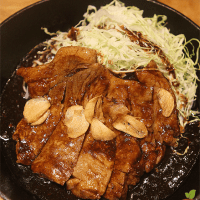 Tokyo Tonteki's Thick and Tasty Pork Loin Steak is a Must-Try!