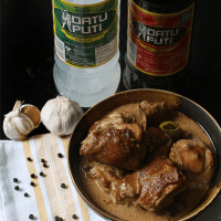 Adobong Manok Sa Gata (Chicken Adobo in Coconut Milk)