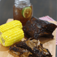 The Peach Kitchen's Baby Back Ribs