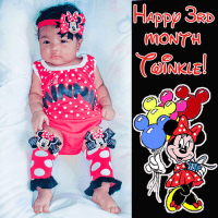 Twinkle's 3rd Month Minnie Mouse Party