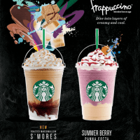 Starbucks Roasted Marshmallow S'mores Frappuccino and Other Summer Offerings