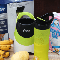 Mango Banana Smoothie + Oster MyBlend Review and Giveaway