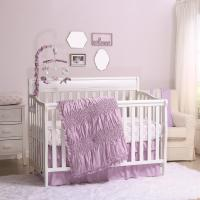 Lilac Kisses Crib Bedding Set