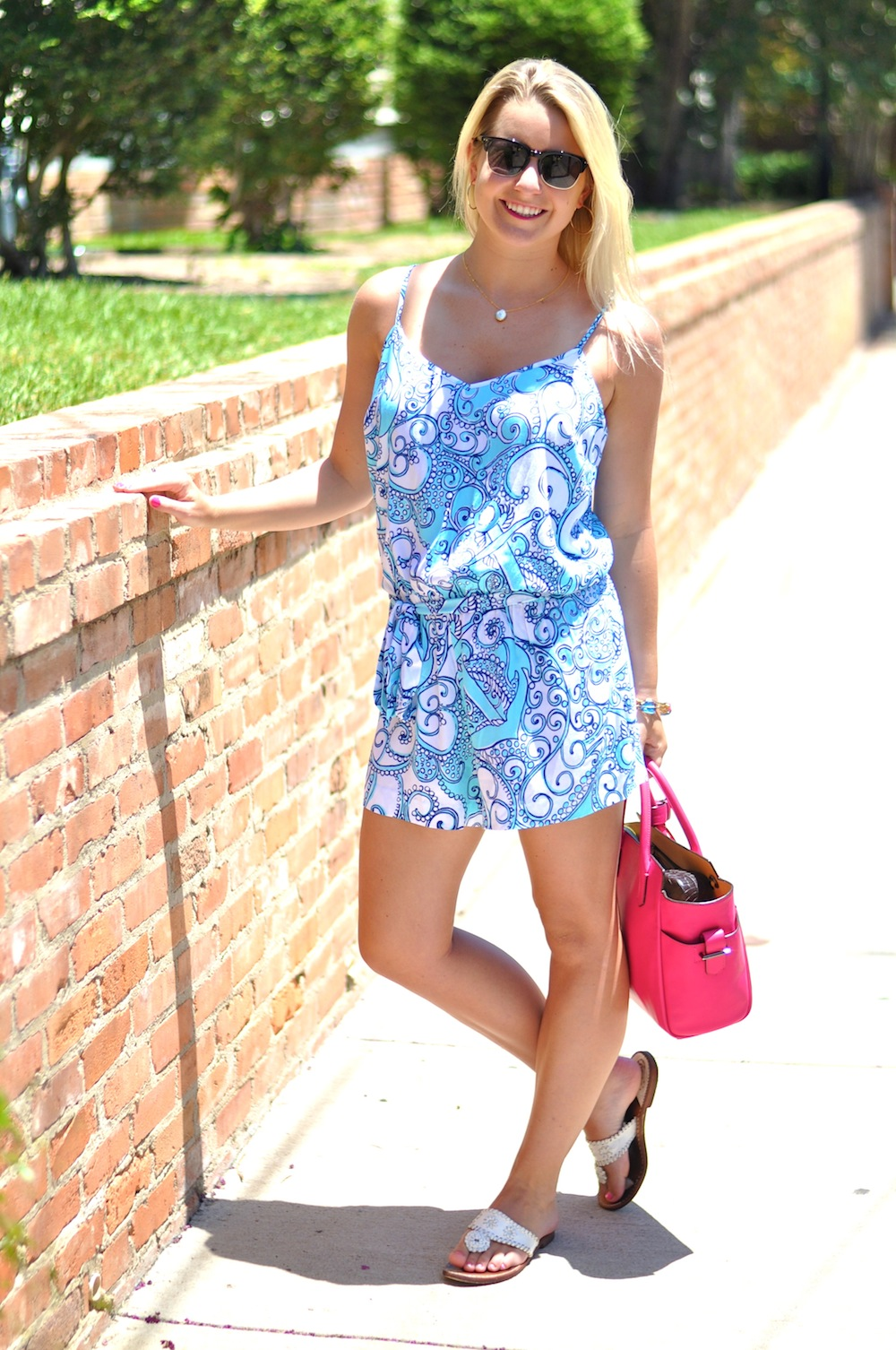Printed Lilly Pulitzer Romper