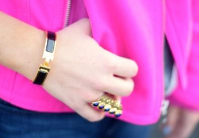 Hermes H Bracelet Black