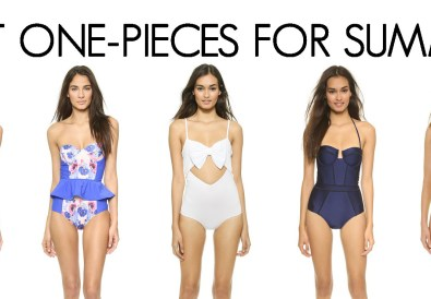 BEST ONE-PIECES FOR SUMMER