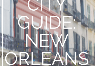 city guide new orleans